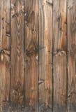Fondo di legno della parete del pannello Immagine Stock