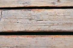 Fondo di legno della parete della vecchia plancia Fotografia Stock Libera da Diritti
