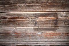 Fondo di legno della plancia Fotografie Stock