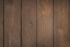 Fondo di legno della plancia di Brown Immagini Stock