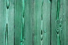 Fondo di legno della struttura di lerciume verde Fotografia Stock