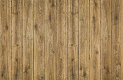 Fondo di legno delle plance di struttura, recinto di legno di Brown, plancia della quercia Fotografie Stock Libere da Diritti