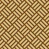 Fondo di legno di bambù di vettore Fotografia Stock
