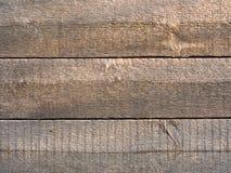 Fondo di legno di buio del recinto Fotografia Stock Libera da Diritti