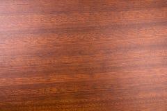 Fondo di legno di mogano decorativo immagine stock
