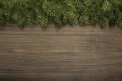 Fondo di legno di Natale Immagini Stock Libere da Diritti