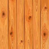 Fondo di legno di pino di vettore Immagine Stock Libera da Diritti