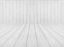 Fondo di legno di prospettiva Immagini Stock