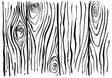 Fondo di legno di schizzo Immagine Stock