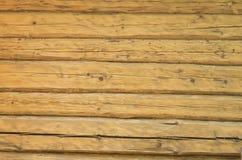 Fondo di legno di struttura del bllockhouse del ceppo Fotografia Stock Libera da Diritti