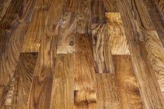 Fondo di legno di struttura del pavimento di parquet Fotografia Stock
