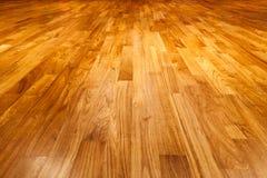 Fondo di legno di struttura del pavimento di parquet Immagini Stock Libere da Diritti
