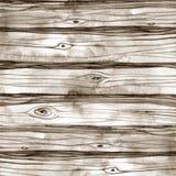 Fondo di legno di struttura dell'acquerello Illustrazione disegnata a mano Immagini Stock Libere da Diritti