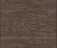 Fondo di legno di vettore Fotografia Stock
