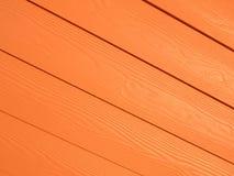 Fondo di legno diagonale arancio del modello Immagini Stock Libere da Diritti