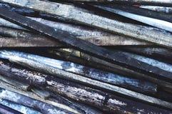 Fondo di legno e di bambù immagini stock