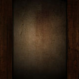 Fondo di legno e di lerciume Fotografie Stock Libere da Diritti