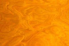 Fondo di legno giallo Fotografie Stock Libere da Diritti