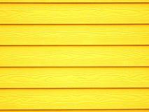 Fondo di legno giallo della carta da parati di struttura Fotografie Stock