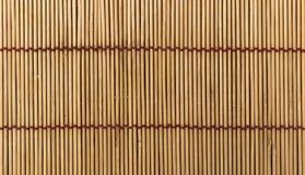 Fondo di legno giapponese della stuoia Immagini Stock Libere da Diritti
