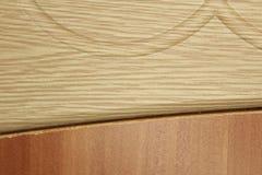 Fondo di legno leggero, struttura di legno sezionale fotografie stock