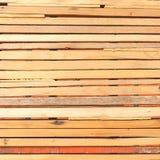 Fondo di legno marrone di alta risoluzione di struttura Immagini Stock