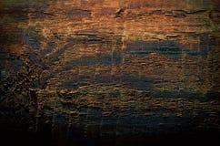 Fondo di legno naturale del pavimento di marrone scuro Fotografia Stock Libera da Diritti