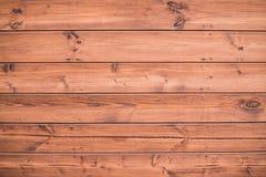 Fondo di legno naturale Parete di legno della plancia all'aperto immagini stock