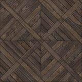 Fondo di legno naturale, struttura senza cuciture di progettazione della pavimentazione del parquet di lerciume Fotografia Stock Libera da Diritti