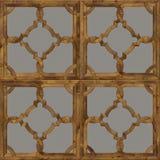 Fondo di legno naturale, struttura senza cuciture di progettazione della pavimentazione del parquet di lerciume per l'interno 3d Fotografie Stock Libere da Diritti