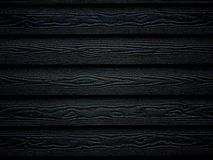 Fondo di legno nero della carta da parati di struttura Immagini Stock Libere da Diritti