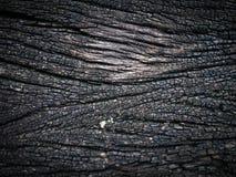 Fondo di legno nero di struttura Fotografie Stock Libere da Diritti