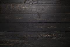 fondo di legno nero di struttura della tavola immagine stock libera da diritti