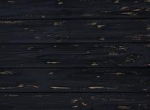 Fondo di legno nero, vecchio, struttura, per progettazione Immagini Stock