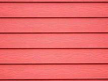 Fondo di legno rosso della carta da parati di struttura Immagini Stock