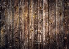 Fondo di legno rustico delle plance con vignettatura piacevole fotografia stock libera da diritti