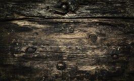 Fondo di legno scuro d'annata, struttura fotografie stock