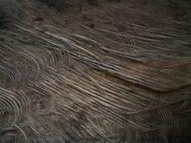 Fondo di legno scuro naturale, vecchia superficie marrone di legno Fotografia Stock