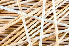 Fondo di legno sottile dei bastoni Fotografia Stock Libera da Diritti
