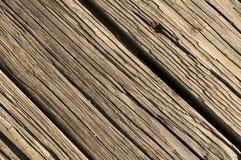Fondo di legno stagionato Fotografie Stock