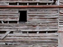 Fondo di legno stagionato del granaio della plancia Fotografia Stock Libera da Diritti