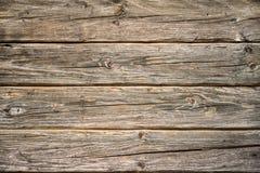 Fondo di legno stagionato della plancia Fotografia Stock Libera da Diritti
