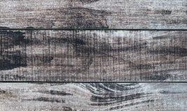Fondo di legno stagionato nel modello orizzontale, colore naturale. Fotografie Stock Libere da Diritti