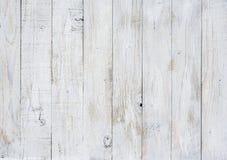 Fondo di legno di struttura decorativa bianca per il retro concetto Fotografia Stock Libera da Diritti