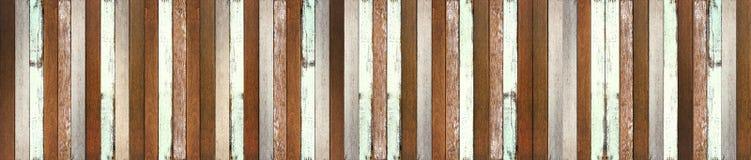 Fondo di legno di struttura del pavimento di panorama immagini stock
