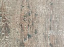 Fondo di legno di struttura della pavimentazione, vista superiore del pavimento liscio di legno del laminato di marrone fotografie stock libere da diritti