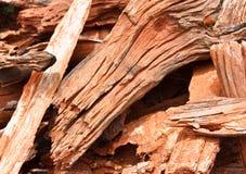 Fondo di legno strutturato approssimativo di lerciume fotografie stock
