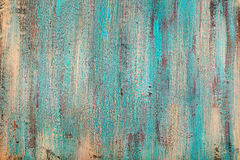 Fondo di legno variopinto del turchese con la vista superiore dello spazio di alta risoluzione della copia di effetto della coten Fotografie Stock