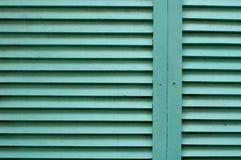 Fondo di legno verde scuro di struttura Fotografie Stock
