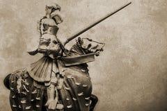 Fondo di lerciume del cavaliere Fotografia Stock Libera da Diritti